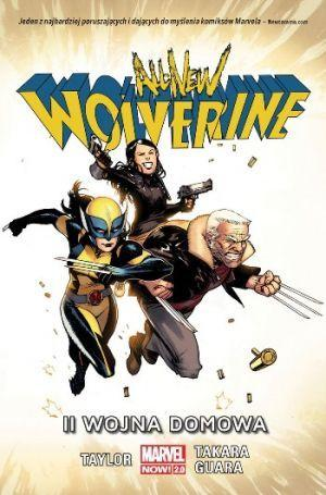 All-New Wolverine Tom 2 II Wojna Domowa