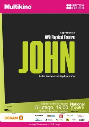 "DV8 Physical Theatre ""John"" Z National Theatre W Multikinie!"