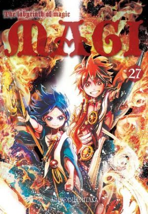 Magi. Labyrinth Of Magic Tom 27
