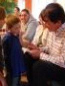 Graham Masterton z wizytą w Domu Dziecka w Górcu